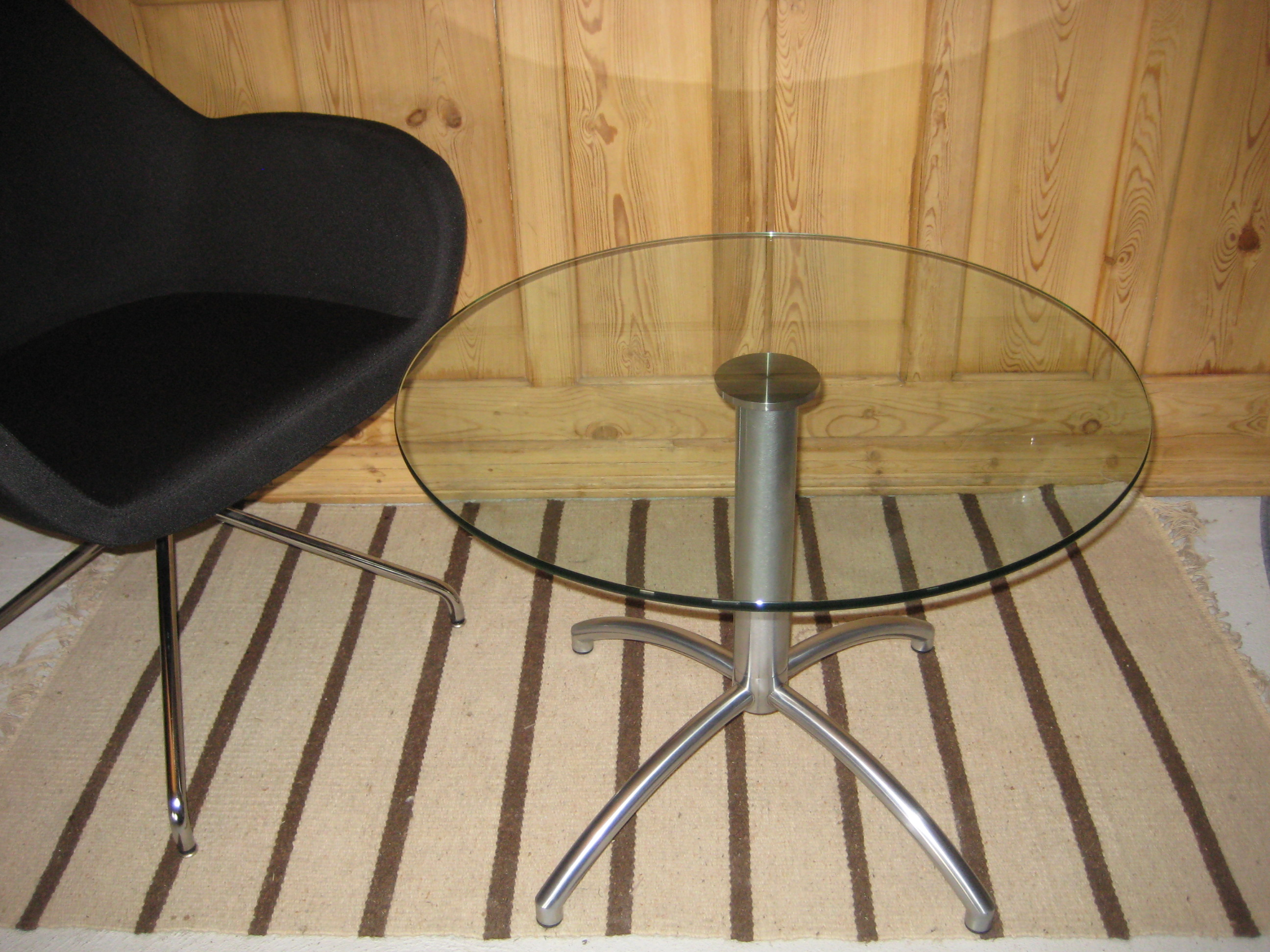 Glasbord Ø 70cm