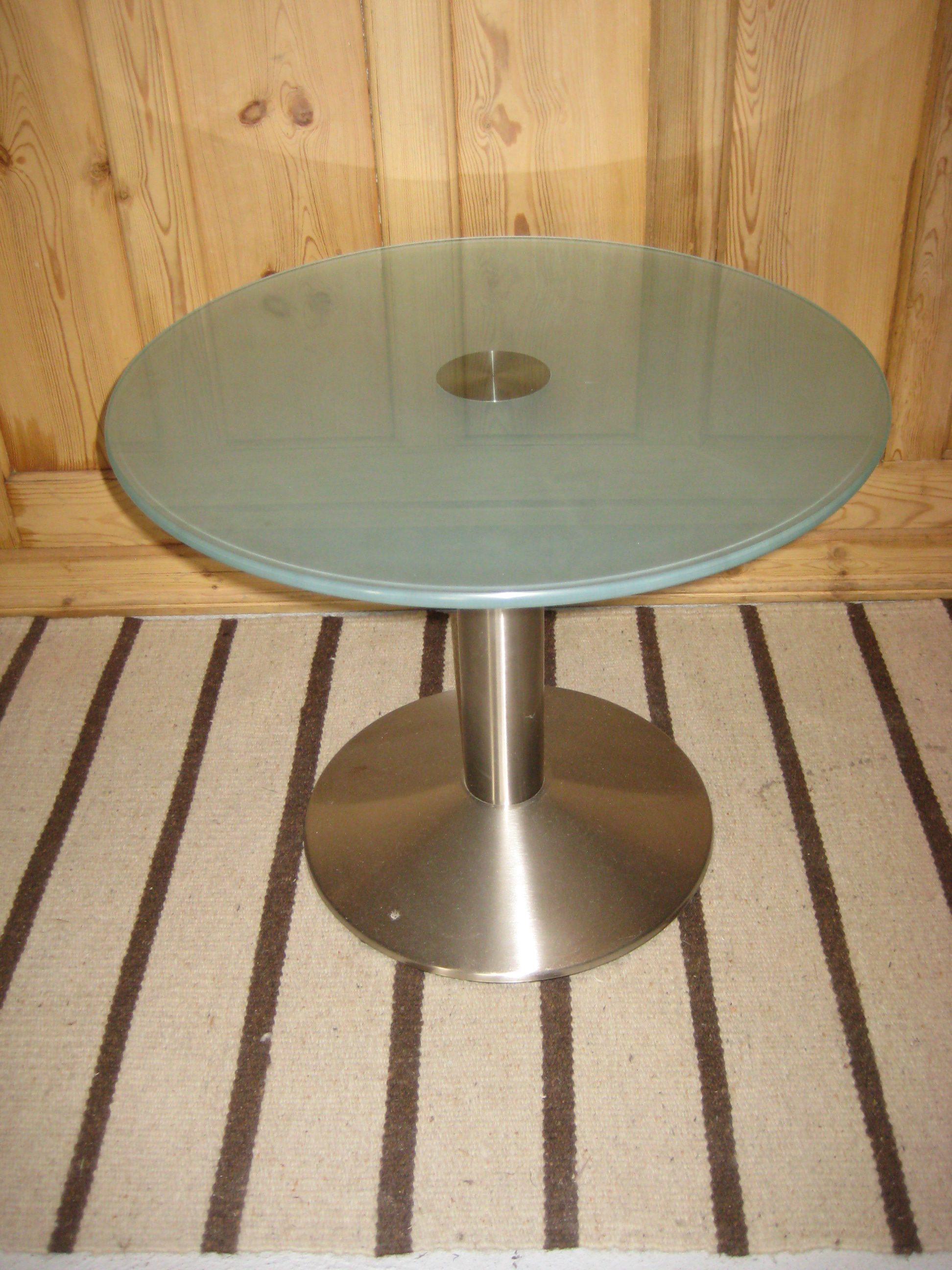 Glasbord Ø 60cm